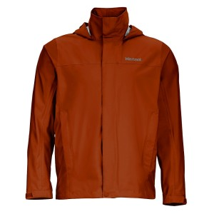 Marmot precip jacket dark rust