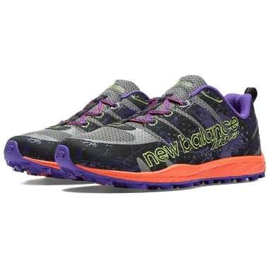 New Balance Women's Minimus Trail 110v2 US8 / EU39, Grey/Purple