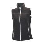 Ivanhoe beata vest graphite marl