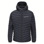 Peak performance men s frost down hooded jacket blue shadow