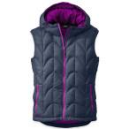 Outdoor research aria vest women s night ultraviolet