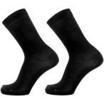 Devold start sock 2pk black black