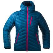 Bergans slingsbytind down lady jacket w h dp sea hot pink