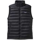 Patagonia men s down sweater vest black