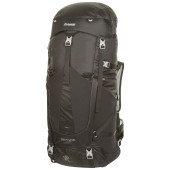 Bergans glittertind 55l black solid light grey