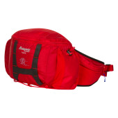 Bergans tydal hip pack 6l red cobalt blue