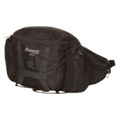 Bergans tydal hip pack 6l black solid light grey