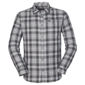 Jack wolfskin gifford shirt men tarmac grey checks