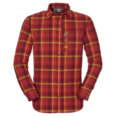 Jack wolfskin maitland ii shirt ls m dried tomato checks