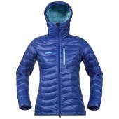 Bergans cecilie down lt jacket ink blue ice