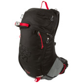 Bergans istinden 26l black bright red solid light g