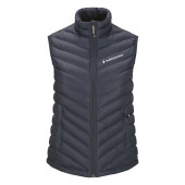 Peak performance women s frost down liner vest blue shadow