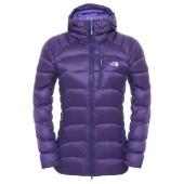The north face w hooded elysium jacket garnet purple