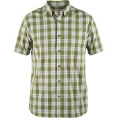 Fjallraven ovik button down shirt ss meadow green
