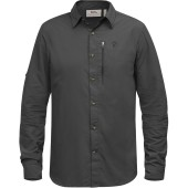 Fjallraven abisko hike shirt ls dark grey