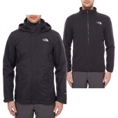 The north face m evolution ii triclimate jacket tnf black