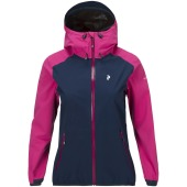 Peak performance women s pac jacket bright pink