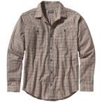 Patagonia men s long sleeved pima cotton shirt harding el cap khaki