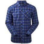Bergans tovdal shirt warm cobalt check