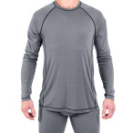 Urberg men s merino roundneck grey