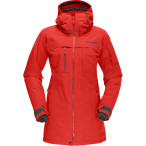 Norrona roldal gore tex insulated jack tasty red
