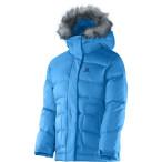 Salomon electra jr jacket blue line