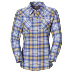 Jack wolfskin gifford shirt women blueberry checks