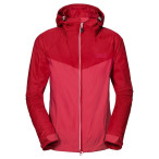 Jack wolfskin airrow jacket women s red fire