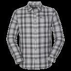 Jack wolfskin gifford shirt men tarmac grey checks