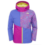 The north face g insulated casie jacket starry purple