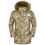 The north face men s mcmurdo parka 2 military green camo print