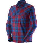 Salomon rustic ls shirt m victory red union blue abyss