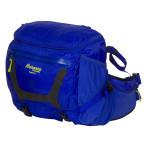 Bergans tydal hip pack 11l cobalt blue neon green