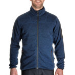 Urberg men s knitted fleece jacket blue