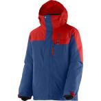 Salomon snowflex jr jacket b midnight blue matador x