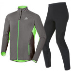 Odlo stryn men s set odlo graphite grey green fla