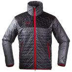 Bergans uranostind ins jacket solid dark grey black br red
