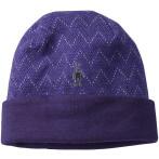 Smartwool rev pattern cuffed b imperial purple