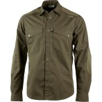Lundhags aumen ls shirt tea green