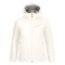 Peak performance women s frost down hooded jacket offwhite